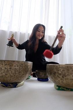 Desiree Singing Bowls & Bell